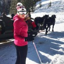 Advanced female skier is seeking pals Feb - March