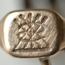 Lost gold signet ring